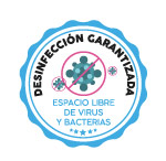 Icono desinfección garantizada